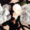 Flower broaches by theStylistme