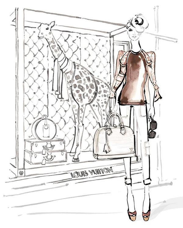 Kerrie Hess_louis-vuitton-paper-doll