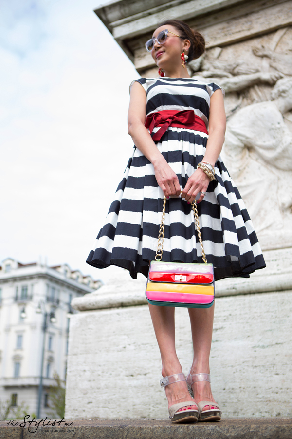 06_yuriAhn_Digital_Fashion_Specialist_Dolce_and_Gabbana_wearing_Sicilian_folk_SS13_stripe