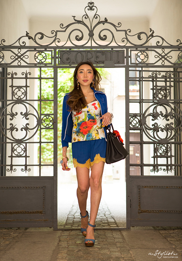 08_yuriAhn_theStylistme_sporty_chic_flower_print_dolce_and_gabbana_styling_tips