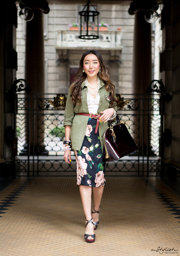 08_yuriAhn_theStylistme_wearing_dolce_and_gabbana_SS_2014_mix_and_match_military_styling