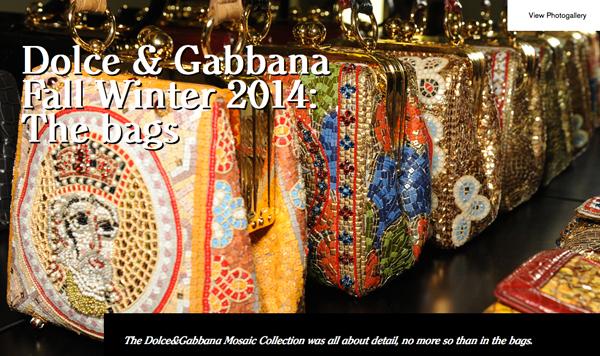 Dolce-and-Gabbana-FW-Fashion-show-women-Mosaic-bags