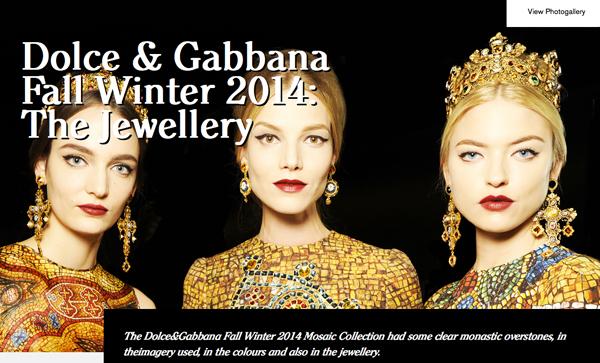 Dolce-and-Gabbana-FW-Fashion-show-women-Mosaic-jewellery