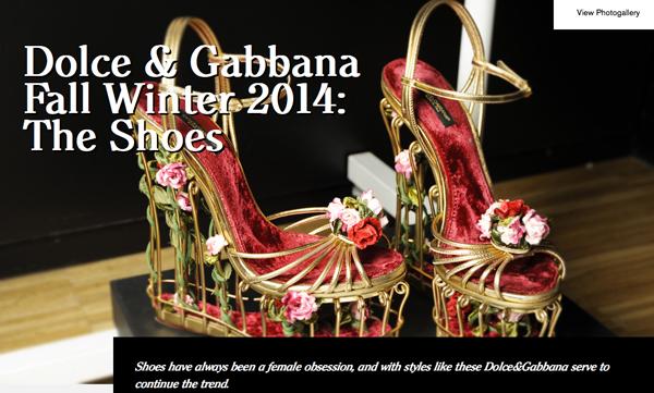 Dolce-and-Gabbana-FW-Fashion-show-women-Mosaic-shoes
