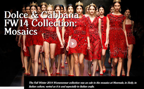 Dolce-and-Gabbana-Fall-Winter-Fashion-show-women-Mosaic
