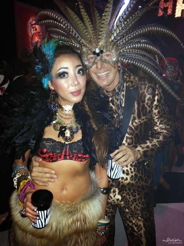 05_YuriAhn_theStylistme_halloween2013_DiscoAfrica_Giampaolo_Sgura _party_with_Stefano_Gabbana