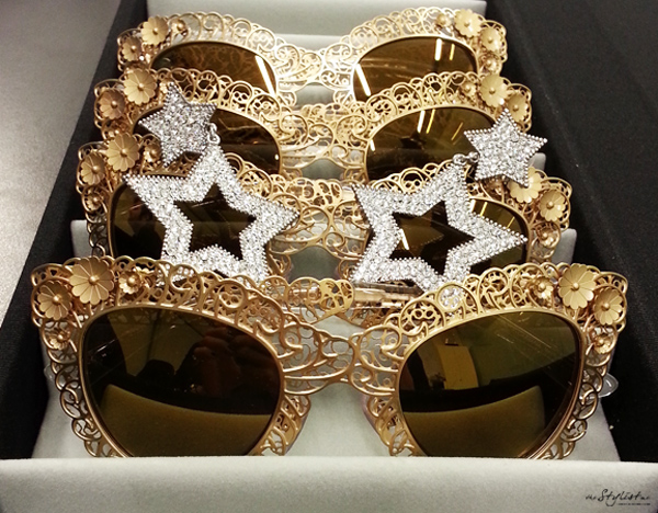 11_YuriAhn_theStylistme-with-dolce-and-gabbana-FW-13-Filigree sunglasses