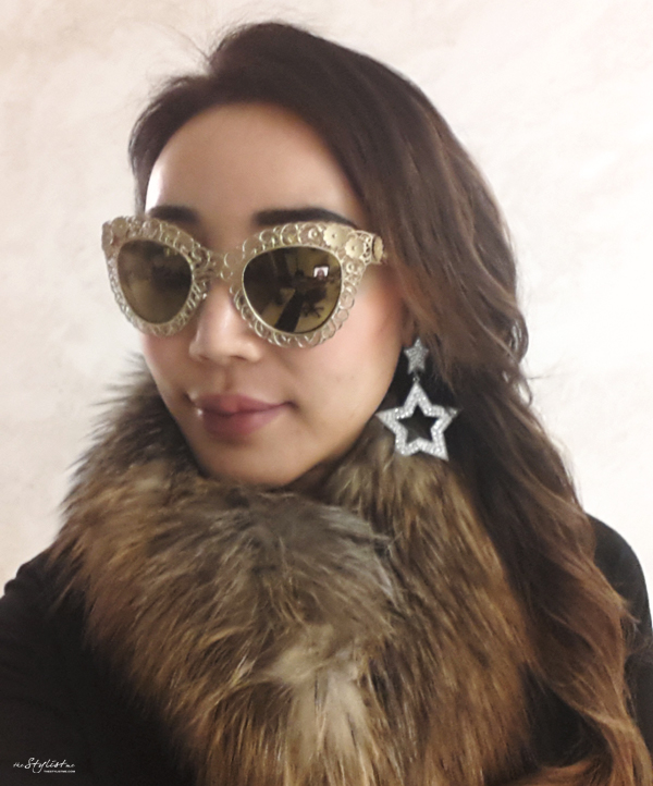 16_YuriAhn_theStylistme-with-dolce-and-gabbana-FW-13-Filigree sunglasses