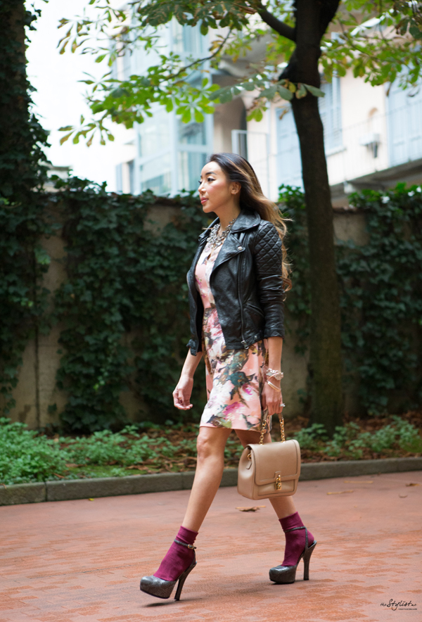 00_YuriAhn-theStylistme-wearing-rose-print-dress-Dolce-and-Gabbana-fw-14