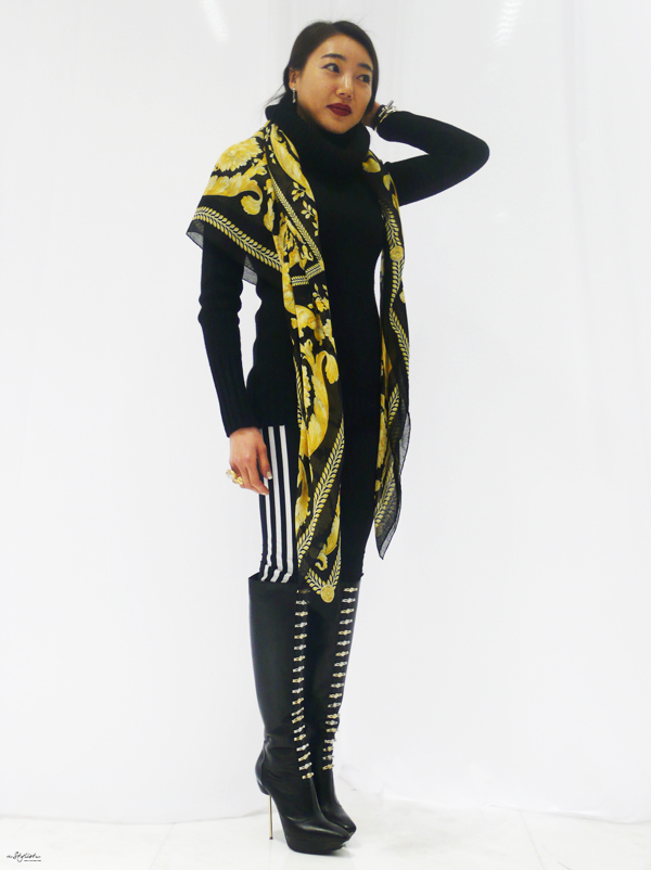 02-YuriAhn-theStylistme-sportswear-luxe-with-versace