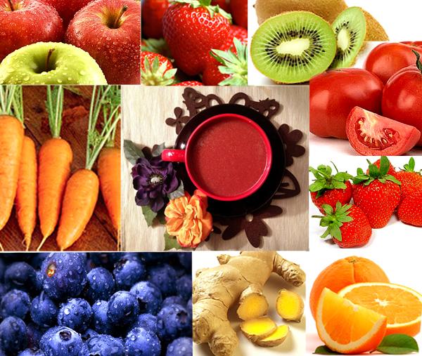 10-YuriAhn-theStylistme-super-breakfast-smoothie-fruts-shake-apple-blueberry-strawberry-kiwi-ginger-tomato-orange-carot