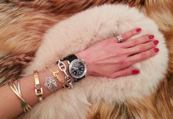 10-YuriAhn-theStylistme-wearing-sensual-polkadot-top-dolce-and-gabbana-SS-14-mfw-versace-women-fashionshow-fw14